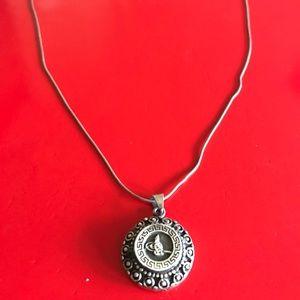 Gorgeous Antique Design Sterling Silver Necklace